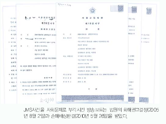 JMS鄭明析総裁事件、すべて嫌疑なしで終結_判決|摂理ニュース
